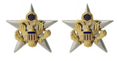 Army Officer Branch of Service Collar Device: General Staff