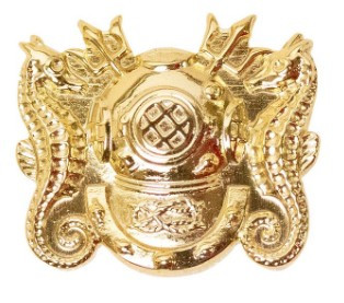 Navy Collar Device: Diving Officer- each