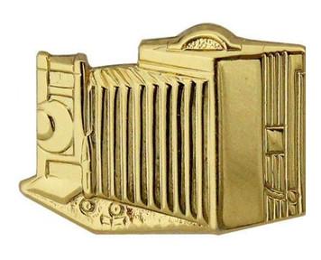 Navy Collar Device: Photographer - gold- each