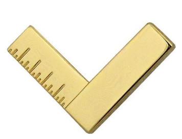 Navy Collar Device: Repair Technician - gold- each