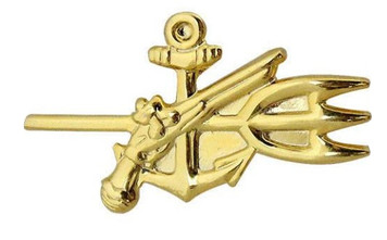 Navy Collar Device: Special Warrant Officer - gold- each