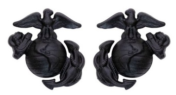 Marine Corps Service Collar Device: Enlisted
