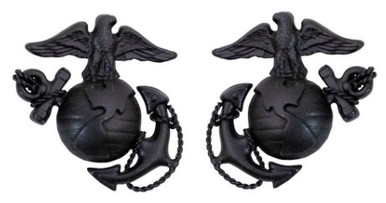 Marine Corps Service Collar Device: Officer
