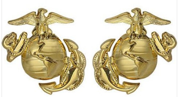 Marine Corps Dress Collar Device: Enlisted
