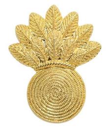 Marine Corps Collar Device: Gunner - gold