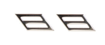 Navy Service Collar Device E3 Service Uniform- pair