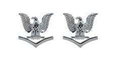 Navy Service Collar Device: E4- pair
