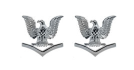 Navy Service Collar Device: E4- pair