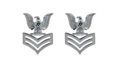 Navy Service Collar Device: E6- pair