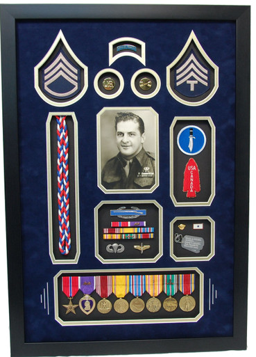 Special Forces Display Shadow Box Military Memories And More