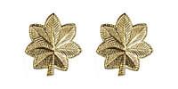 Navy Officer Rank Collar Device: Lieutenant Commander- pair