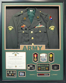 U.S. Army Jacket Display Frame