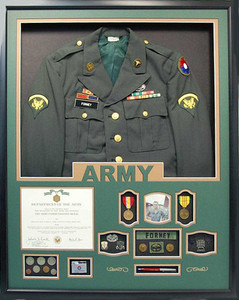 U.S. Army Jacket Display Frame