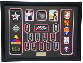 U.S. Army Display Case Frame