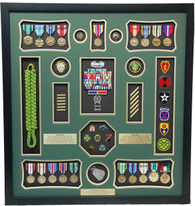 U.S. Army Deployment Shadow Box