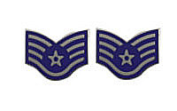 Air Force Enameled Chevron: Staff Sergeant- pair