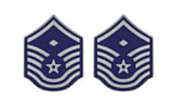 Air Force Enameled Chevron: Master Sergeant: First Sergeant