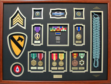Infantry/First Cavalry Shadow Box Display