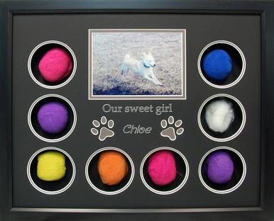 Sweet Chloe Pet Memorial Shadow Box