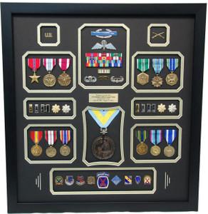 U.S. Army Ranger Shadow Box Display Frame