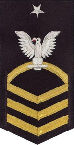 Navy E8 Rating Badge – vanchief on blue