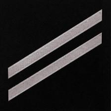 Coast Guard E2 Rating Badge: Seaman - blue serge