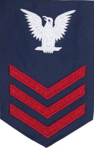 Coast Guard E6 Rating Badge