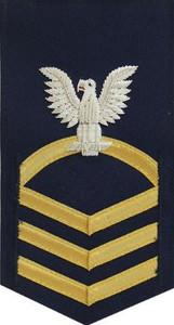 Coast Guard E7 Rating Badge