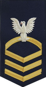 Coast Guard E7 Rating Badge