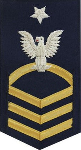 Coast Guard E8 Rating Badge