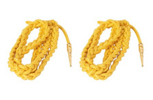 Army Dress Aiguillette- Gold Nylon- pair