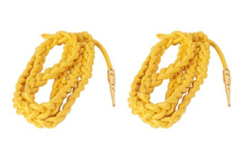 Army Dress Aiguillette- Gold Nylon- pair