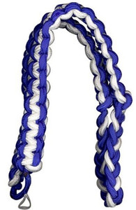 Army Shoulder Cord: 2723 Interwoven Royal Blue and White