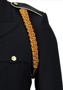 Army Shoulder Cord: Ordnance - crimson and yellow