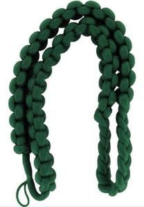 Army Shoulder Cord: 2723 Interwoven Kelly Green – thick