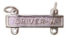 Army Qualification Bar: Driver W - mirror finish