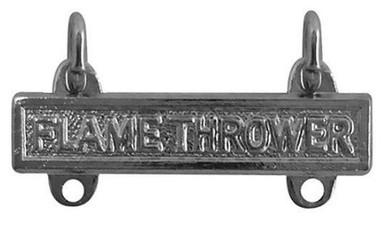 Army Qualification Bar: Flamethrower - mirror finish