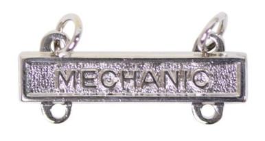 Army Qualification Bar: Mechanic - mirror finish