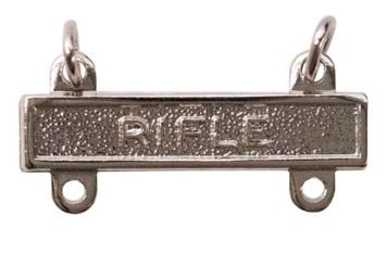 Army Qualification Bar: Rifle - mirror finish