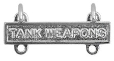 Army Qualification Bar: Tank Weapons - mirror finish
