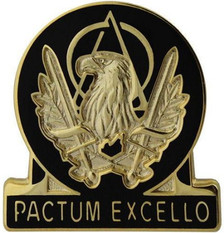 Army Corps Crest: Acquisition - Pactum Excello- each