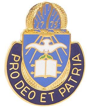 Army Corps Crest: Chaplain - Pro Deo Et Patria- each