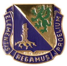 Army Corps Crest: Chemical - Elementis Regamus Proelium- each
