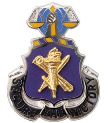 Army Corps Crest: Civil Affairs - Secure The Victory- each
