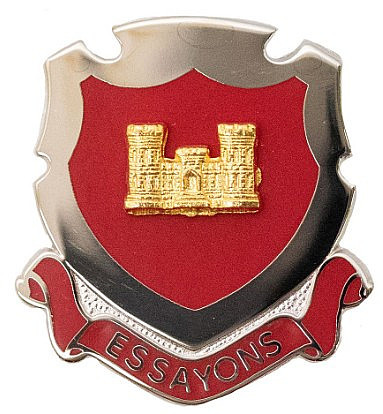 Army Corps Crest: Engineer – Essayons- each
