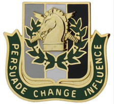 Army Corps Crest: Psychological Operations Regiment- each