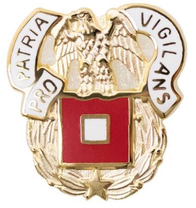 Army Corps Crest: Signal - Pro Patria Vigilans- each