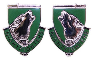 Army Crest: 104th Training Division - Night Fighters- pair