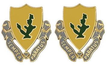 Army Crest: 12th Cavalry - Semper Paratus