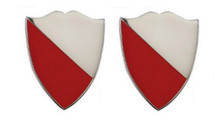 Army Crest: 15th Engineer Battalion- pair